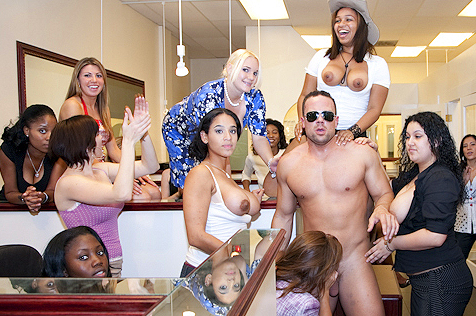 Completeley naked women party join. And